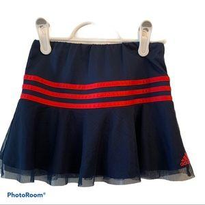 KIDS 2 for $20 Blue Adidas Skort size 6X